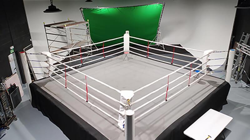 Decorado Ring Boxeo