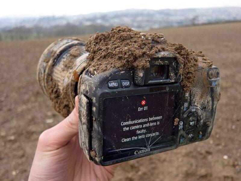 Limpieza sensor y cámaras